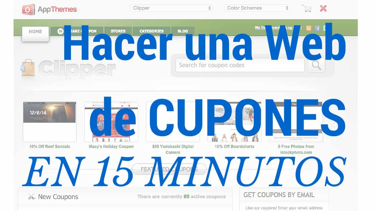 3957783e0f Cómo Hacer una Web de Cupones Descuento en Wordpress - Mis Ingresos Pasivos