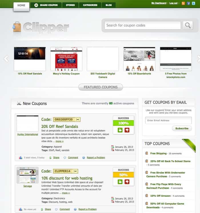 web-theme-cliper-cupones