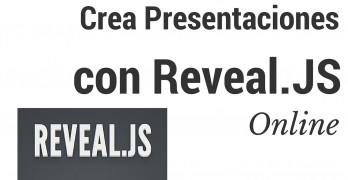 hacer presentaciones online con reveal.js