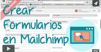 Curso Email Marketing: Crear formularios y añadirlos a nuestra web (Premium)