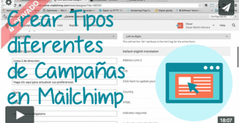 Tipos diferentes de Campañas en Mailchimp y cómo crearlas (Premium)