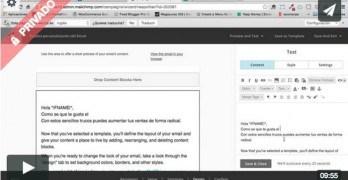 (Premium) Cómo Añadir Contenido automático dentro de nuestros emails con MergeTags en Mailchimp