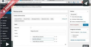 Crear campos personalizados en los listados de la plantilla Vantage (premium)
