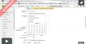 Curso de Google DFP: Tipos de pedido y ajustes de Entrega (Premium)