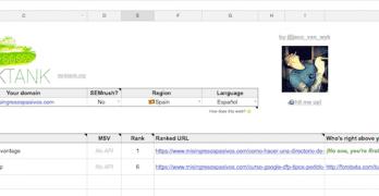Como saber tu posición en Google, Gratis con Google Drive