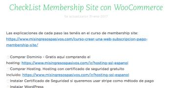 Añadir vídeos con Amazon S3 y Checklist para nuestro Membership Site