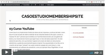 3º Vídeo del Caso Práctico para crear una Membership Site igual que MisIngresosPasivos.com