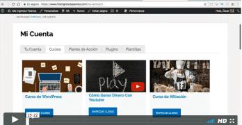 2 nuevos tutoriales del Curso de Membership Site