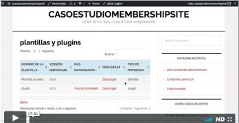 4º Vídeo del Caso Práctico para crear una Membership Site igual que MisIngresosPasivos.com