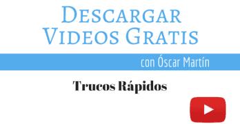 Página para descargar Vídeos gratis, libres de derechos para tus Proyectos