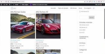 Añadir estilos al buscador creado con FacetWp