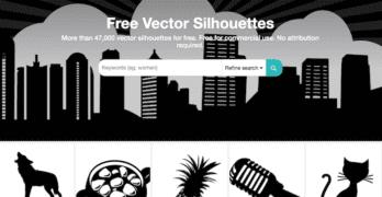 Descargar iconos y siluetas gratis en Silhouette AC