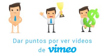 myCRED: Dar puntos por ver videos en Vimeo