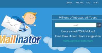 Mailinator: Mail público para hacer pruebas sin contraseña