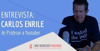 Entrevista a Carlos Enrile, de Profesor en Comercio Exterior a YouTuber