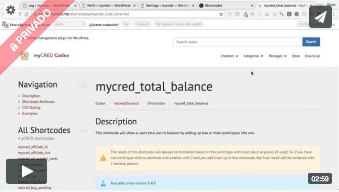 mycred total balance