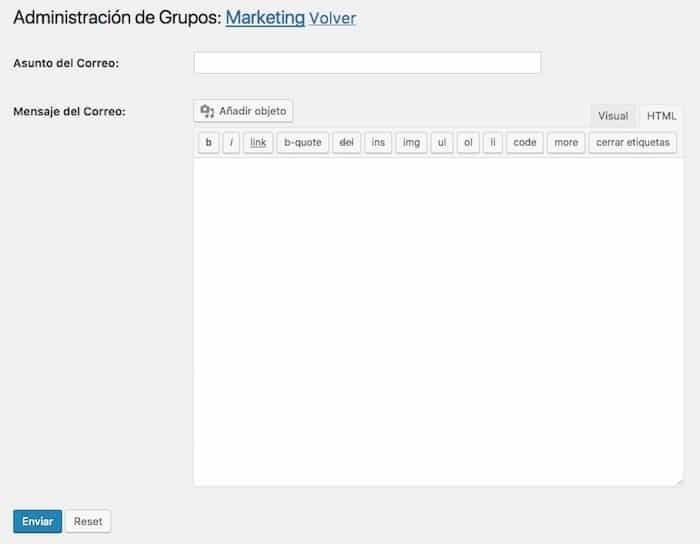 administracion grupos email group