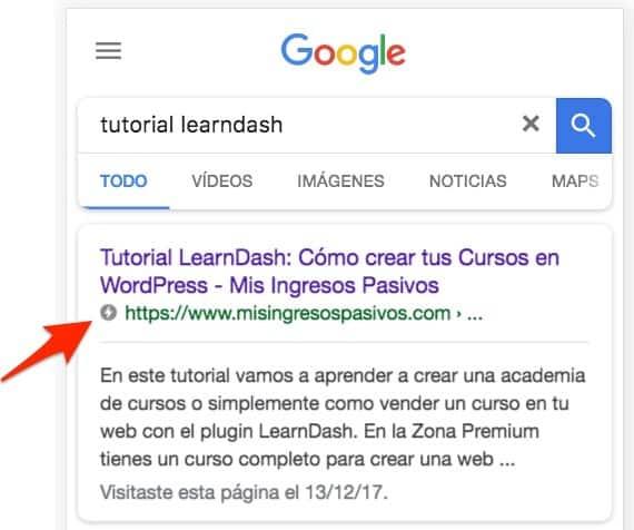 amp google buscar