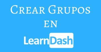 Crear Grupos en Learndash