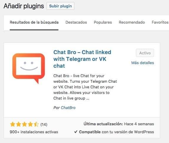 chatbro plugin