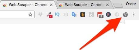 icono web scraper