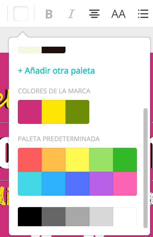 paleta colores marca