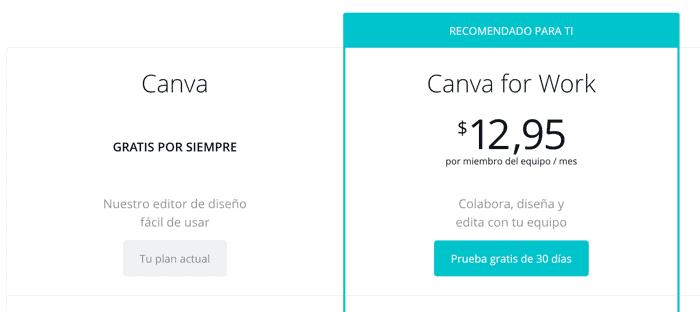 precios canva.com