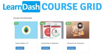 Crear página con todos los cursos de LearnDash con Course Grid