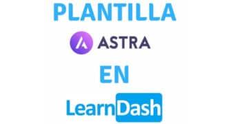 plantilla astra learndash