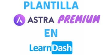plantilla astra premium learndash