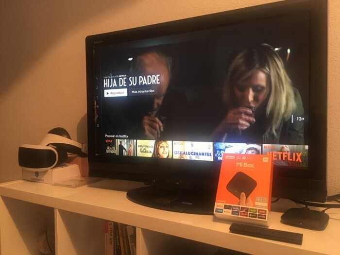 Mi Box Netflix