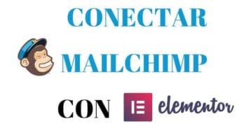 desconectar mailchimp elementor