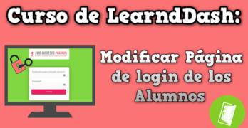 mejora login learndash