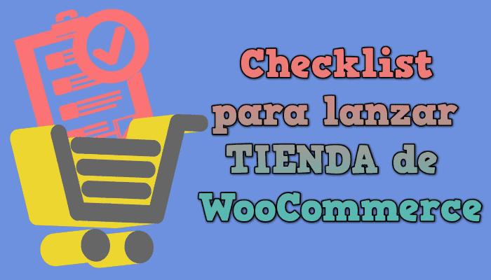 checklist woocommerce