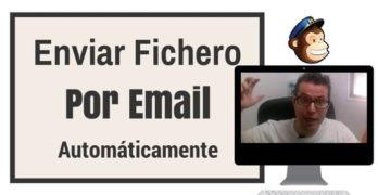 enviar fichero mailchimp