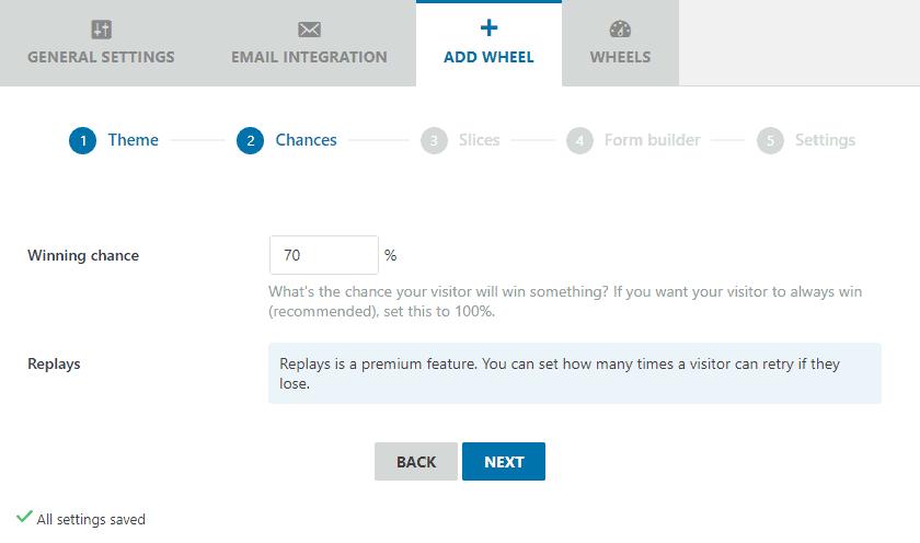 add wheel option