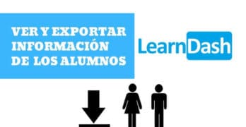exportar alumnos learndash