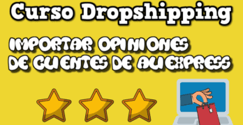 importar opiniones aliexpress