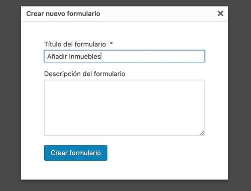 nuevo formulario add inmuebles