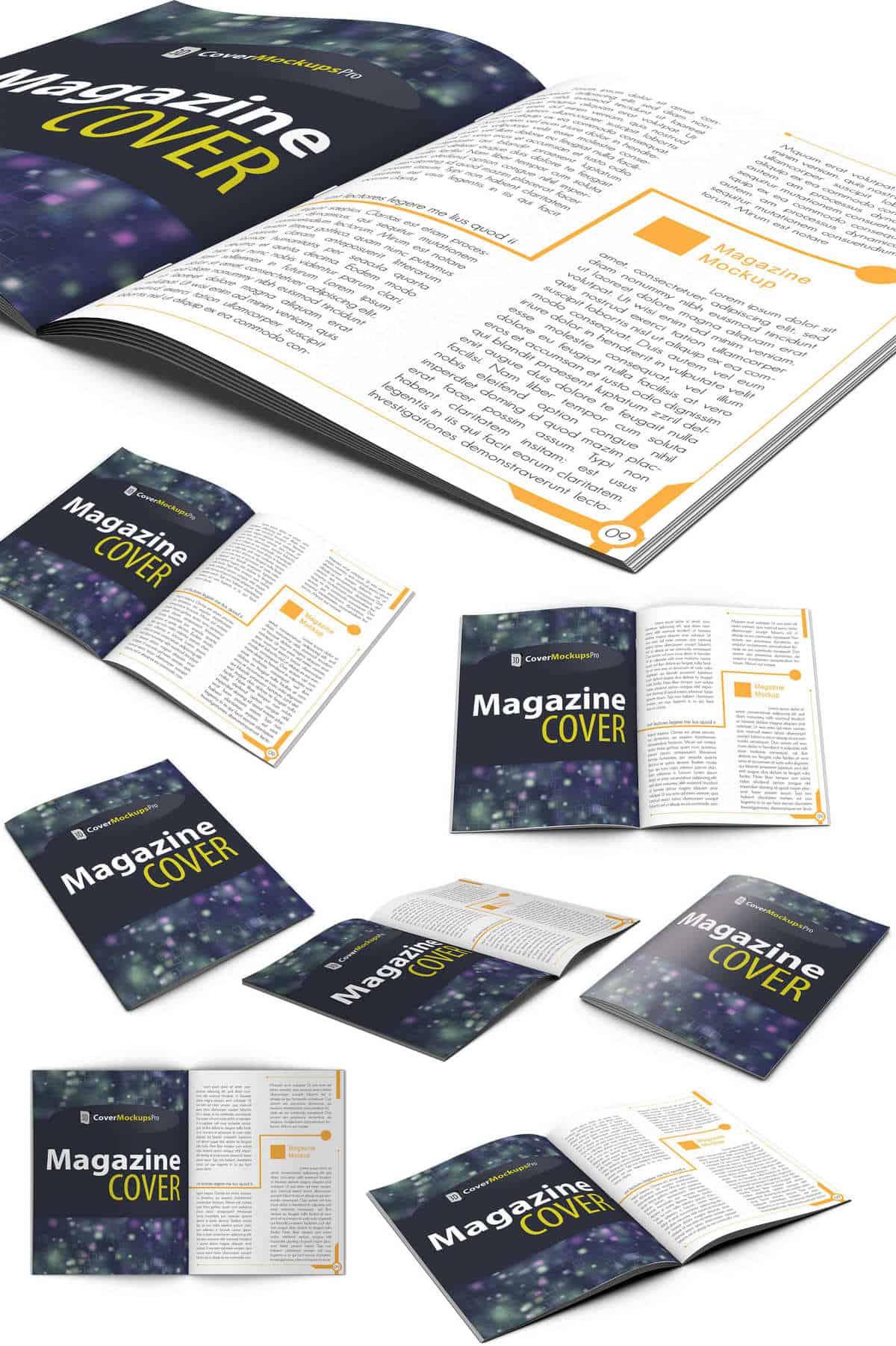 ejemplos revistas 3d