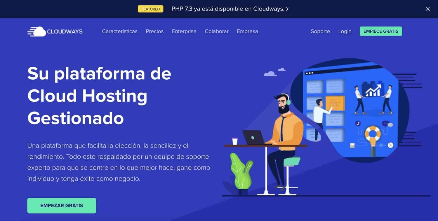 cloudways home
