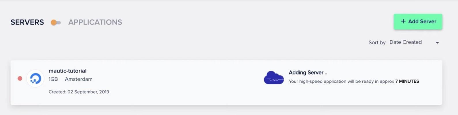 Instalando servidor Cloudways