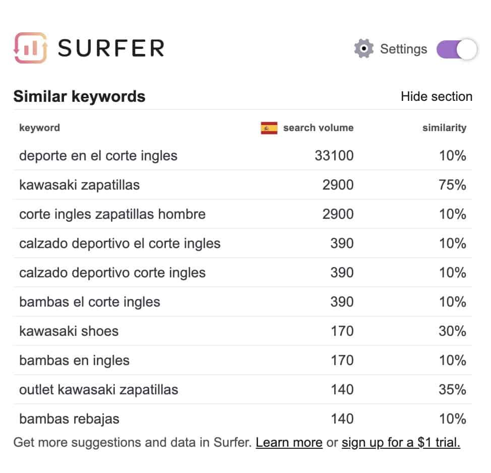 búsquedas relacionadas surfer