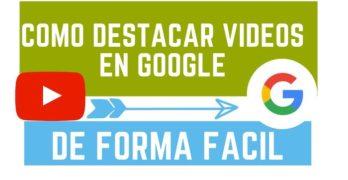 destacar videos google