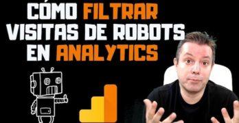 filtrar visitas bots analytics
