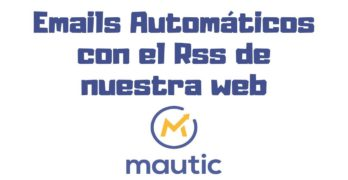 emails automaticos rss mautic
