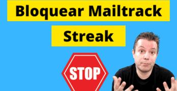 bloquear streak mailtrack