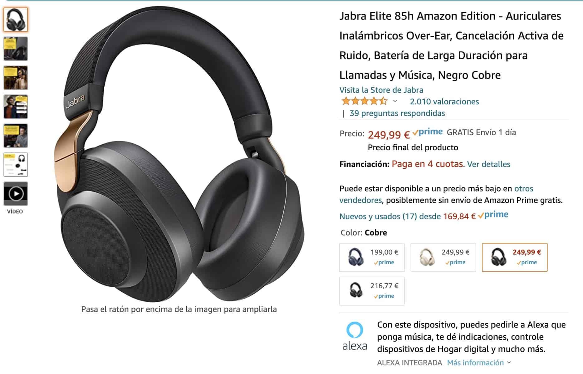 Ficha productos Amazon